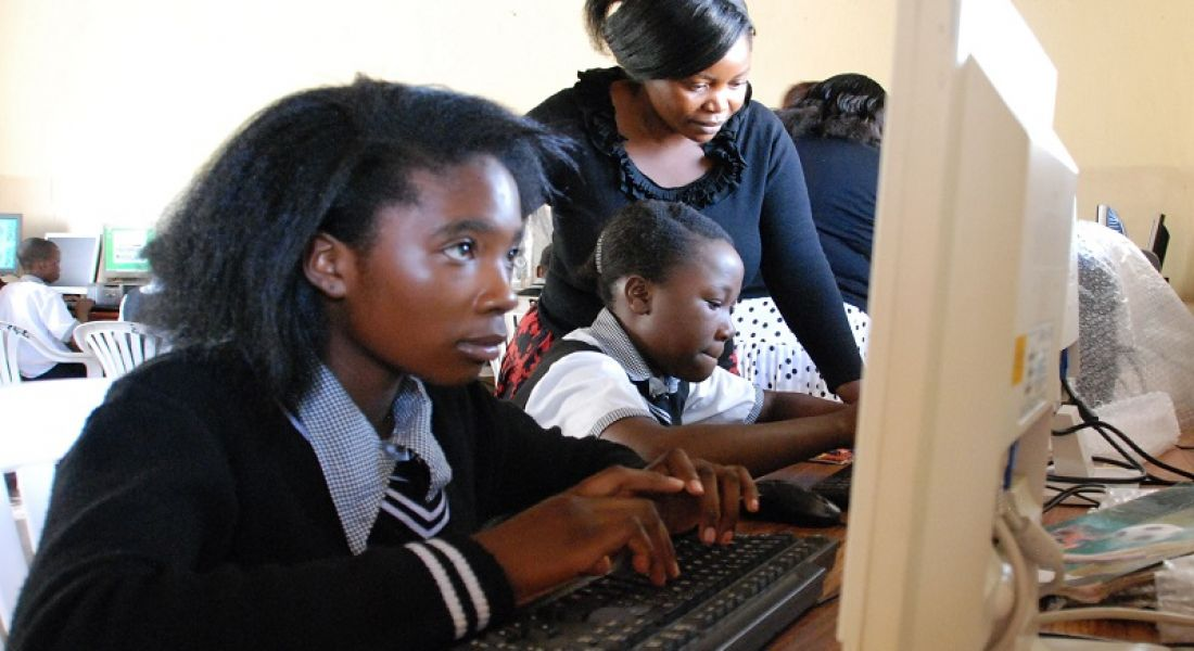 Camara Zambia shows massive uptake in computer studies for girls
