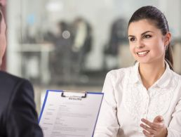 Sci-tech jobs: happy applicant
