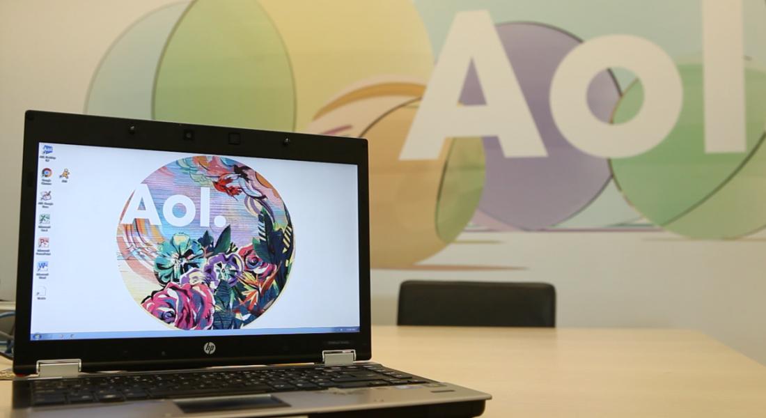 AOL branding