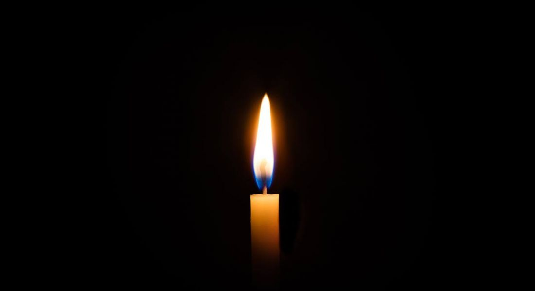 Career development: candle in dark room