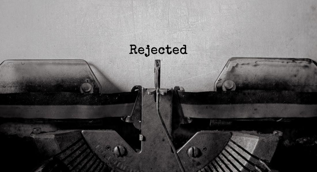 job rejection