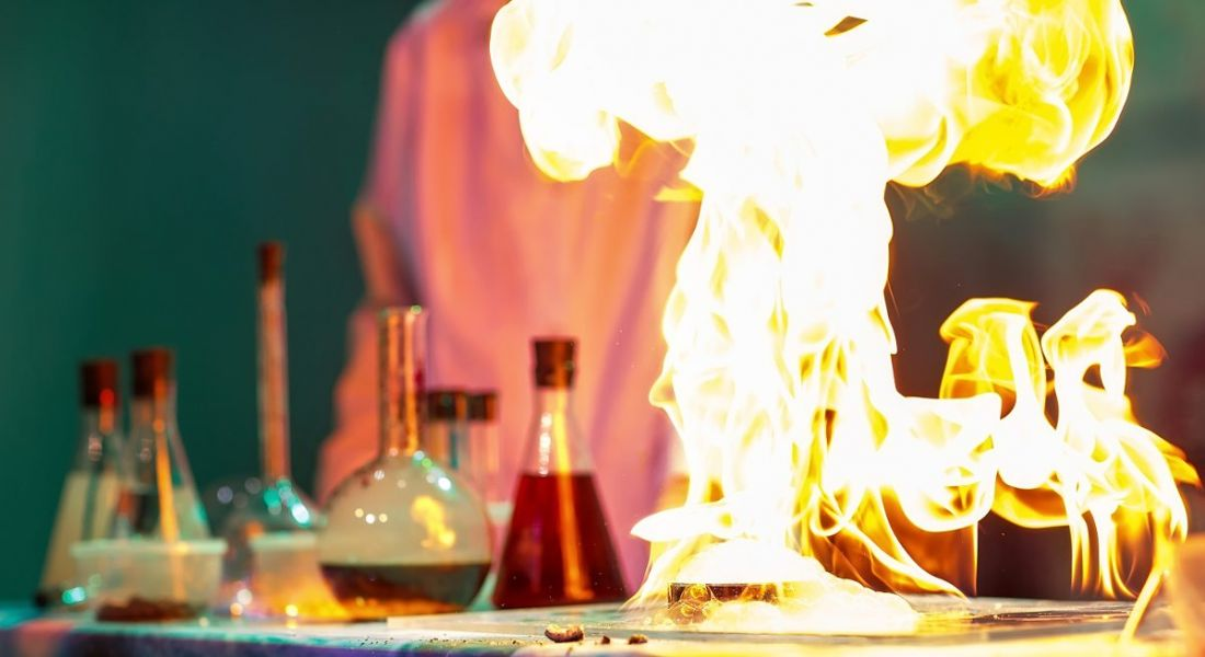 Life sciences: lab fire