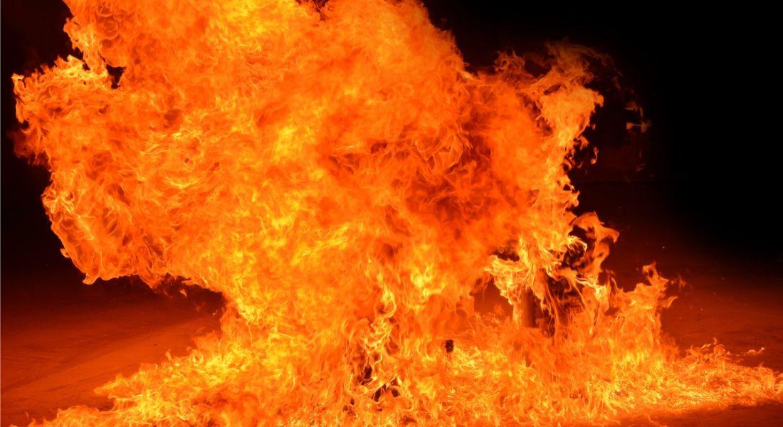 Fire symbolising employee burnout