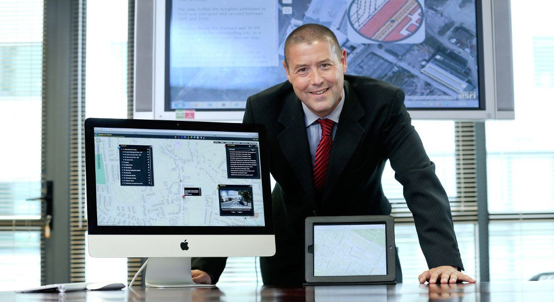 Paul Synnott, Esri Ireland's director and country manager. Image: Maxwell Photography