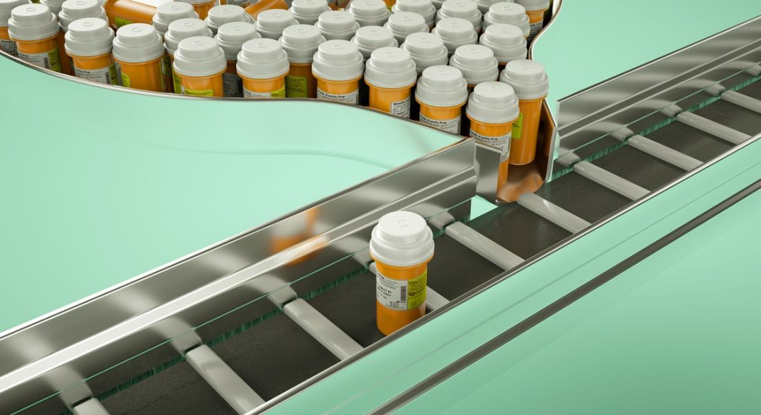 Pharma processing line