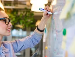 How can design thinking help to shape the future of work?