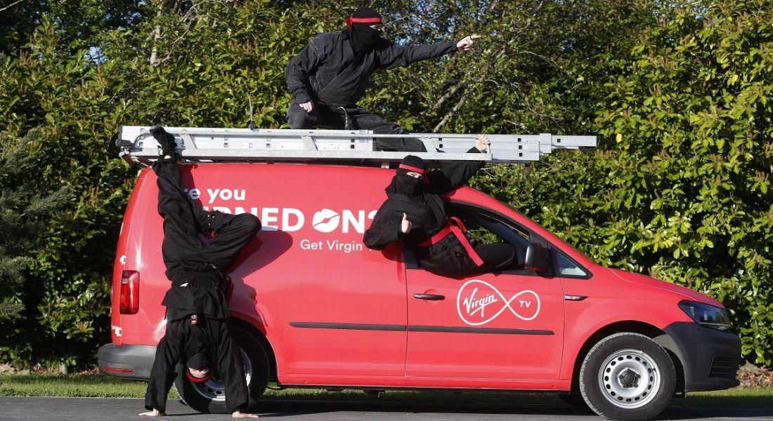 Virgin Media ninjas