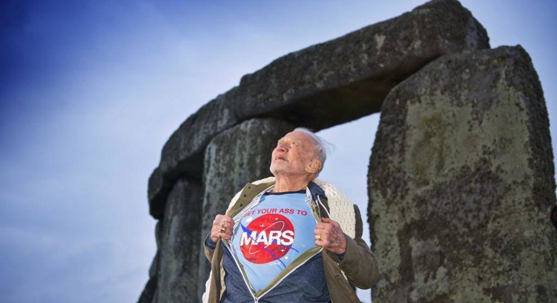 Space events with Buzz Aldrin