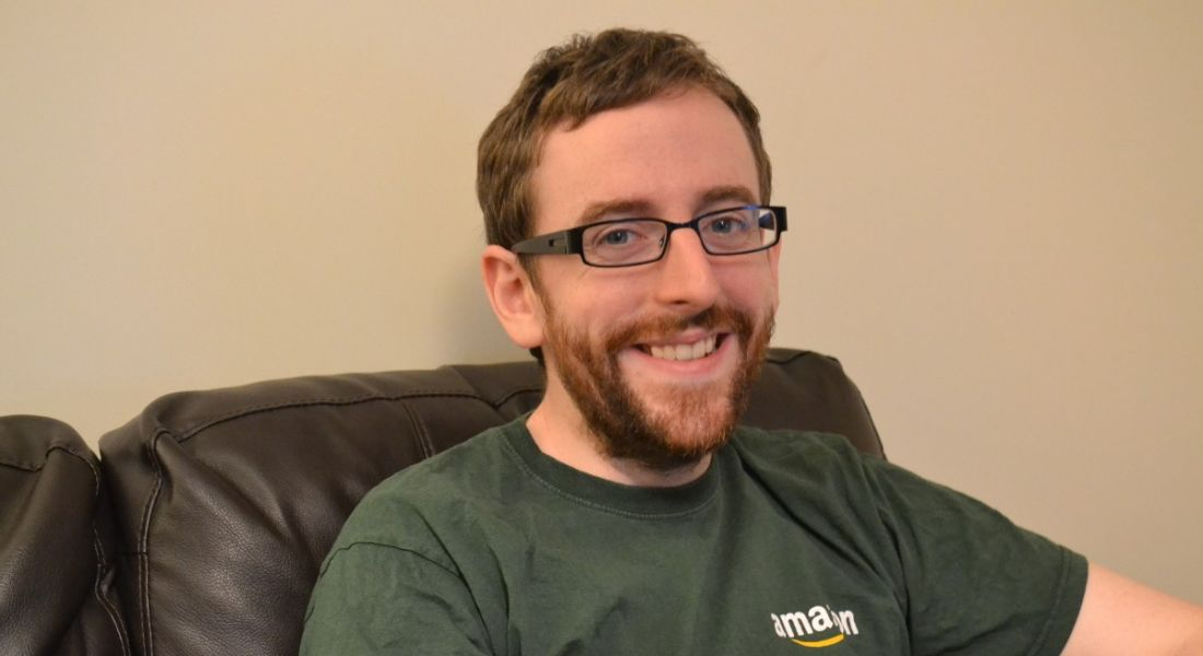 Senan Quinn, support engineer, Amazon Web Services