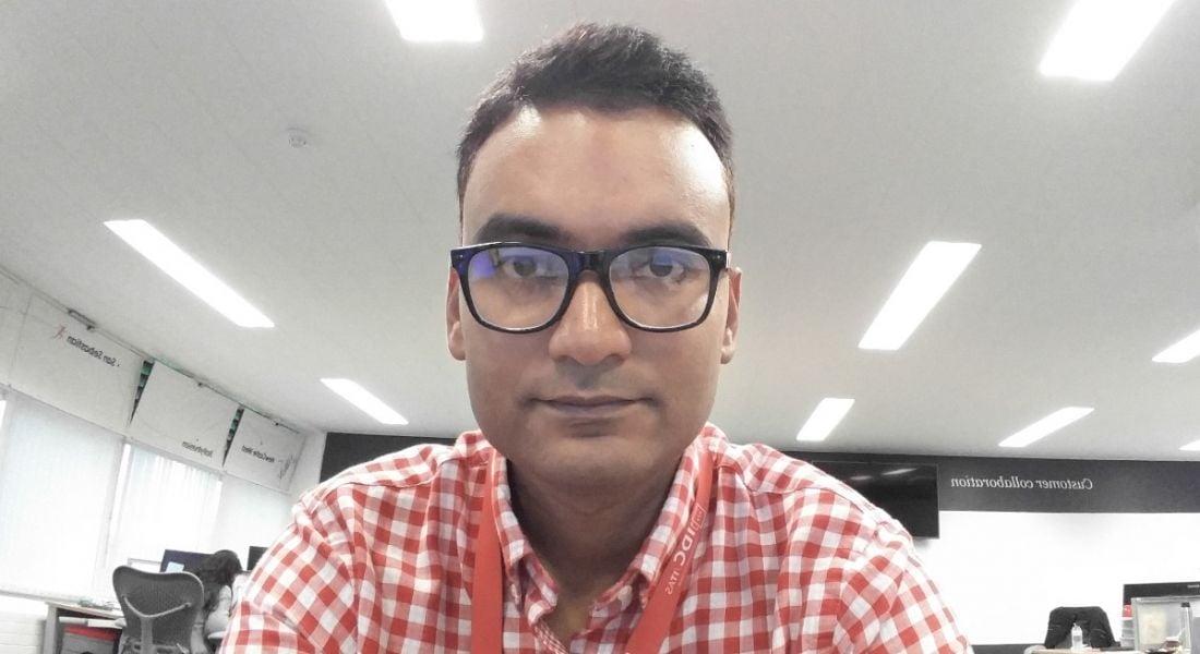 Saurabh Shrihar, software development manager in automation with Johnson & Johnson