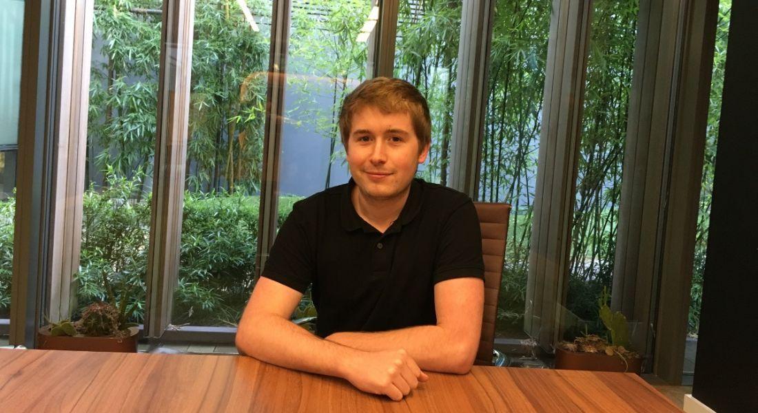 Romain Valette, application developer at Voxpro
