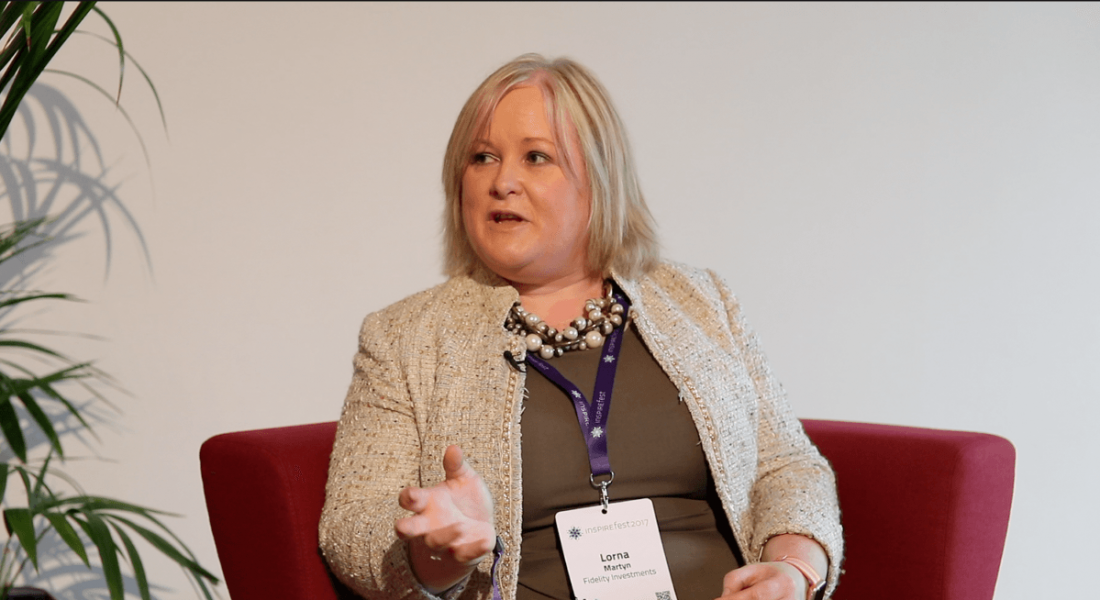 Lorna Martyn, head of technology, Fidelity Investments. Image: Luke Maxwell