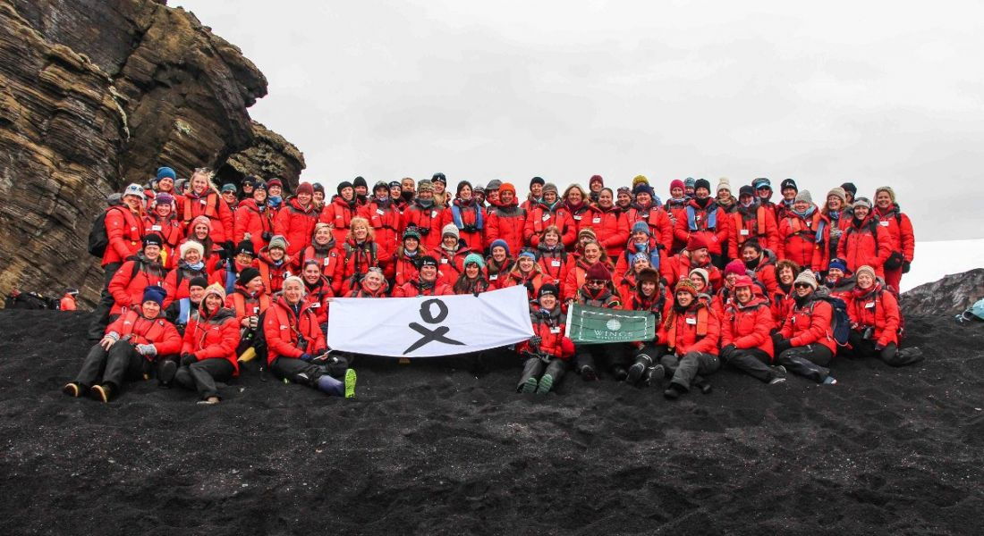 Largest all-female expedition leads the way for women in STEM