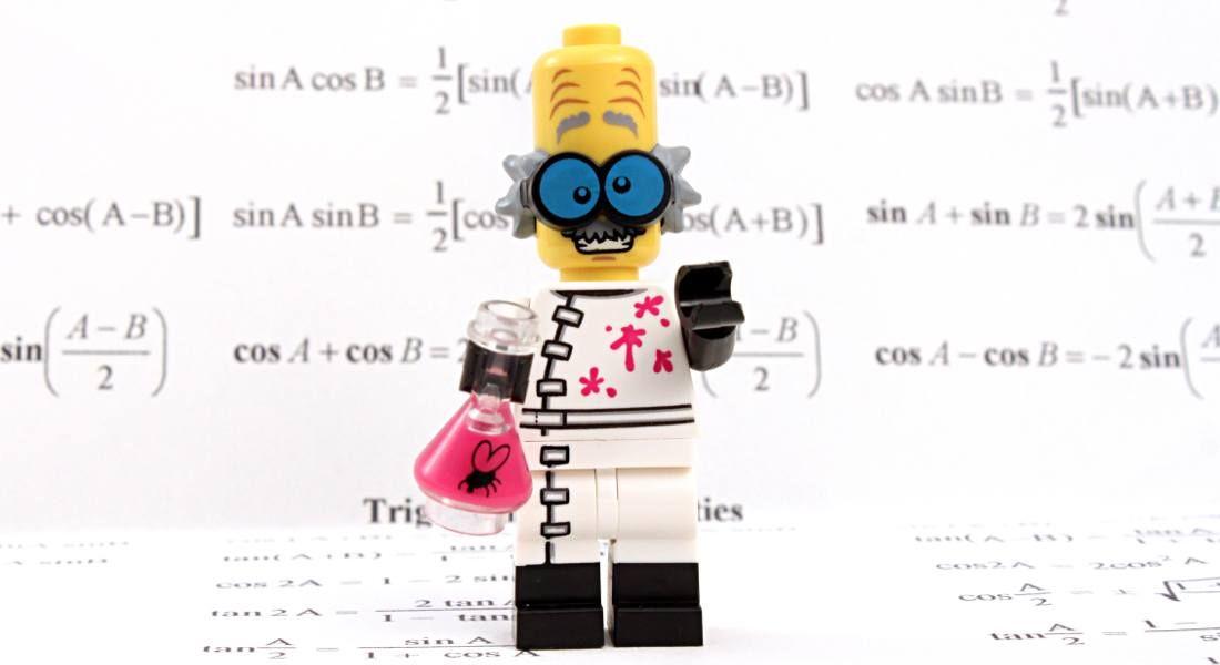 Lego professor. Image: cjmacer/Shutterstock