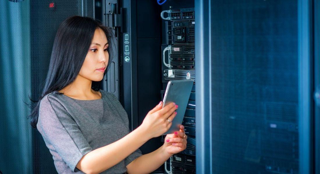 Data jobs: data centre worker