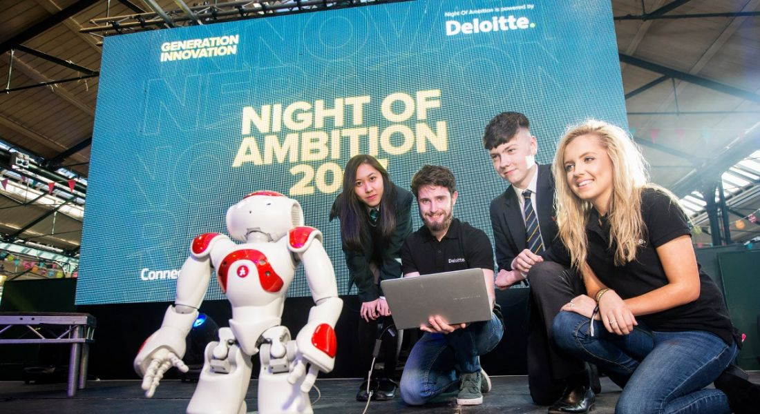 Night of Ambition shows students how to think big for the future