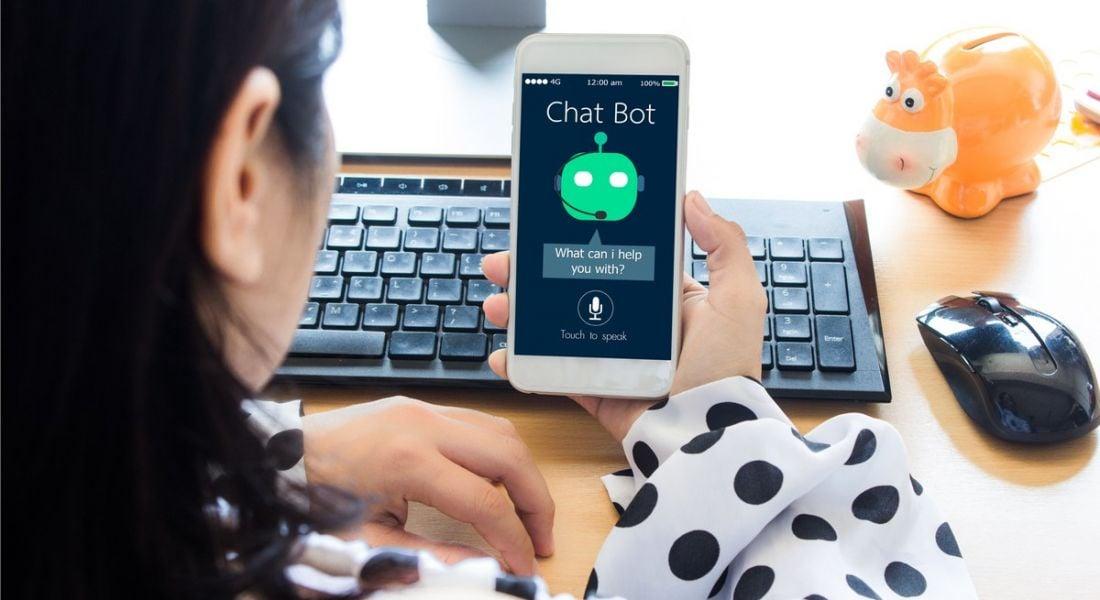 Chatbot app on phone