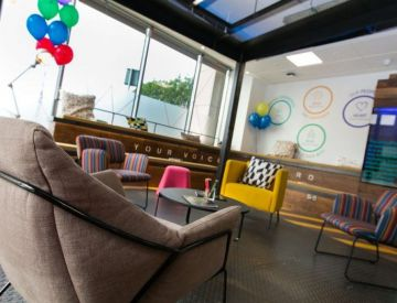 Inside Accenture's experimental office space at The Dock