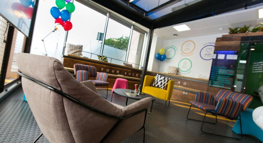 Accenture Employee Experience Space, The Dock, Dublin. Image: Shane O'Neill/SON Photographic
