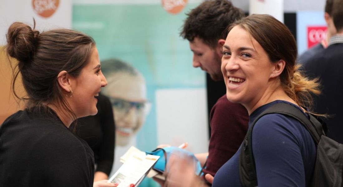 Apple, Dell, EY at the University of Limerick Careers Fair