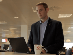 On the Vodafone enterprise product team, no two days are the same