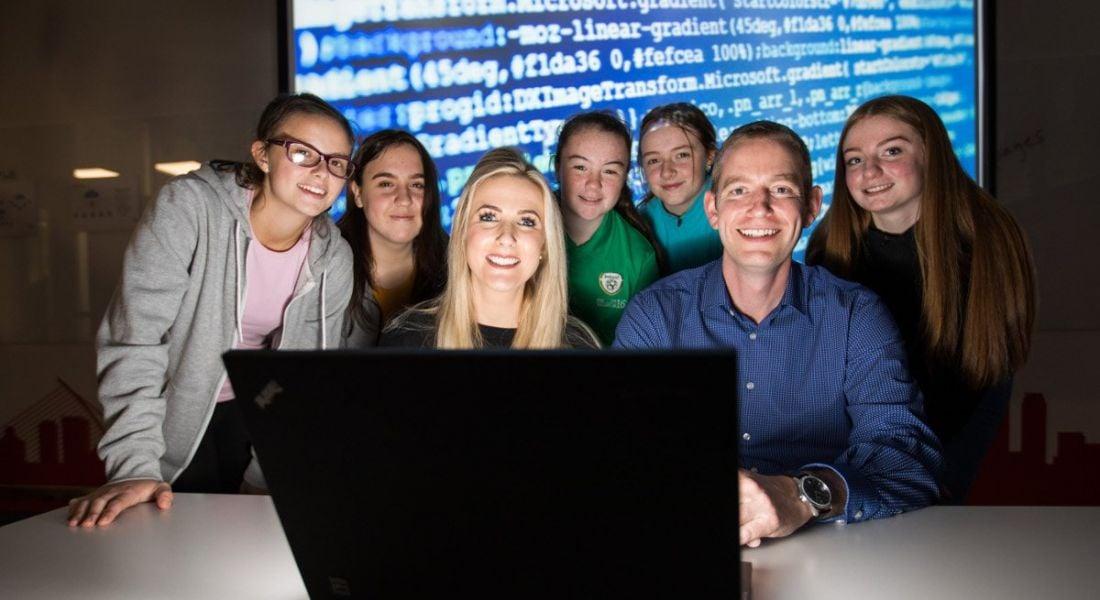 Vodafone Ireland highlights gender gap issue with #CodeLikeaGirl student initiative