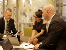 What is a typical day like for a consulting partner at Deloitte?