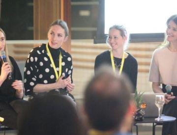 At Slack, women gather to plan the female revolution