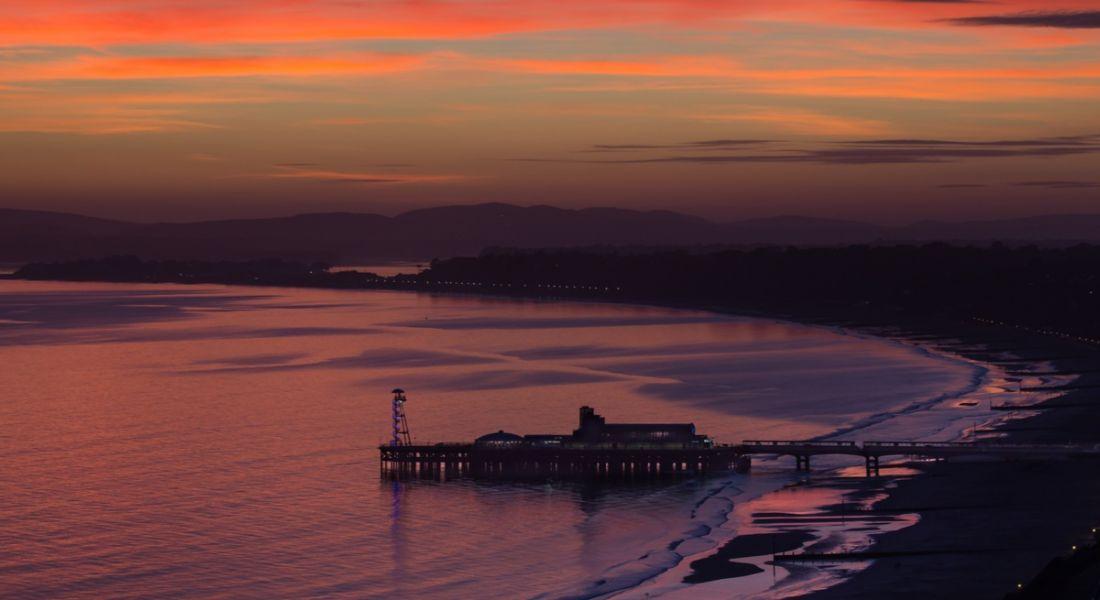 Bournemouth sunset