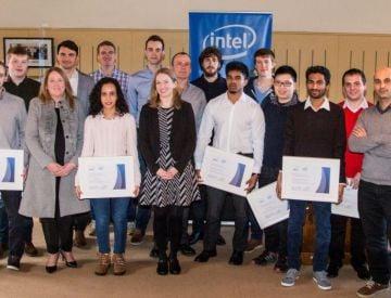 Intel provides bursaries to DCU master's students