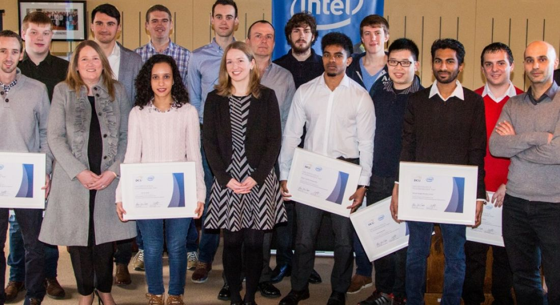 Intel provides bursaries to DCU master's students