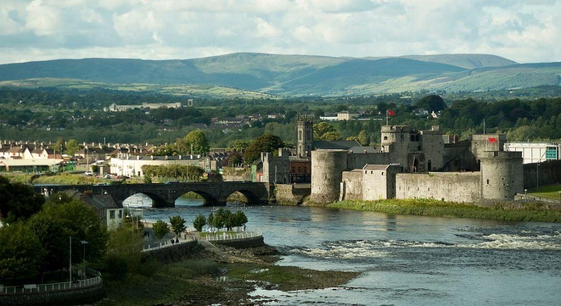 Limerick City Castle in Ireland