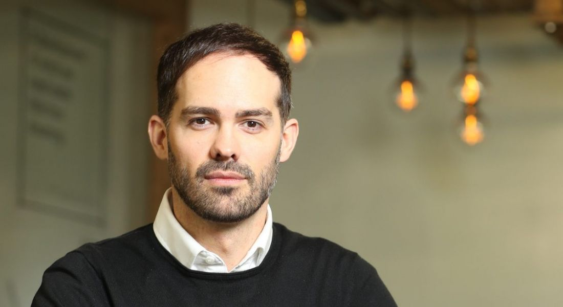 A headshot of Anthony Day, COO EMEA blockchain lab at Deloitte