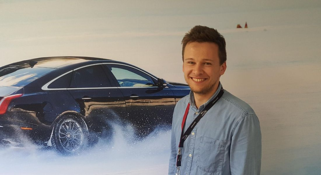 Gio Wan Wijk, a software engineer at Jaguar Land Rover. Image: Conor McKenna