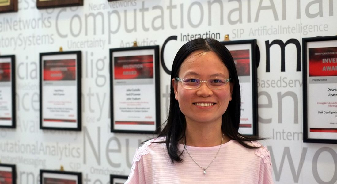 Hoa Thi Yen Mai, a software engineer at Avaya