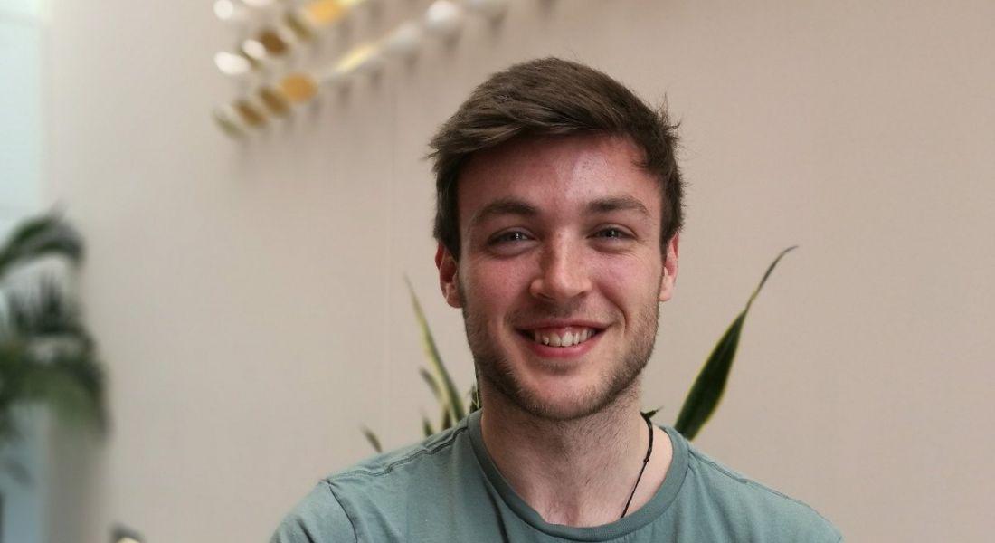 John Garrahan, intern at Zendesk