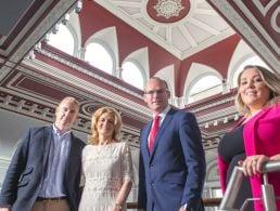 NI Enterprise Minister announces 55 jobs for Belfast from Quantus