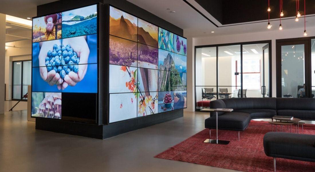 Inside the Shutterstock offices in Manhattan. Image: Pio3/Shutterstock