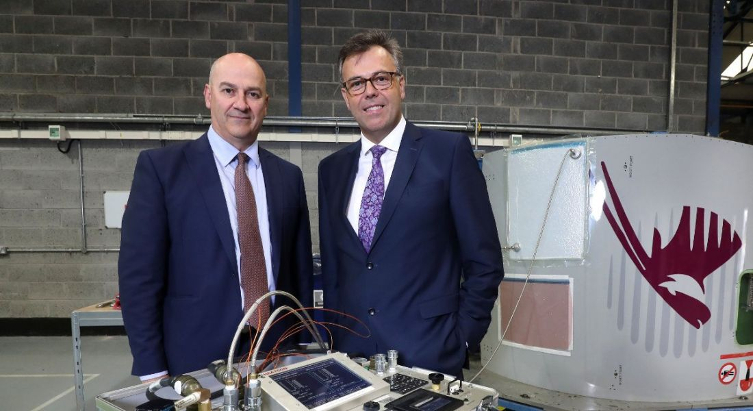 Eirtech Aviation Services flying high with 124 Belfast jobs