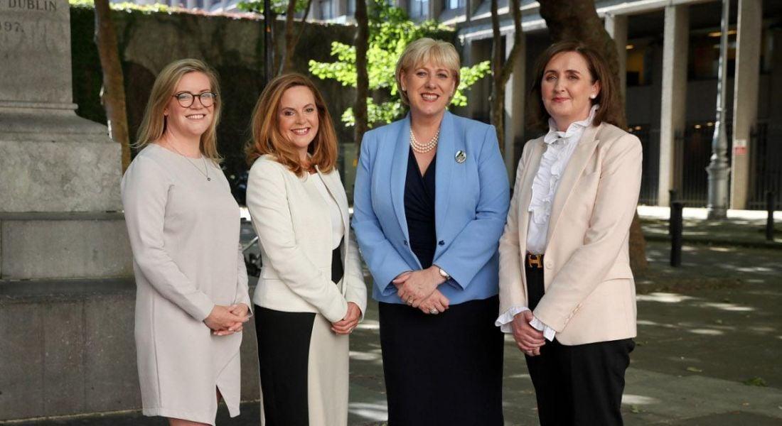 Fiona McCabe International Financial Services Project Manager IDA, Anne Flood, Head of Capital Markets Intertrust Ireland, Minister for Business, Enterprise & Innovation, Heather Humphreys TD and Imelda Shine, Managing Director Intertrust Ireland.