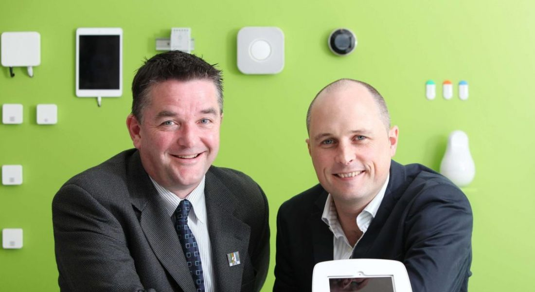 From left: Smartzone founder and CEO Justin McInerney and chief product officer Ken O'Shea.
