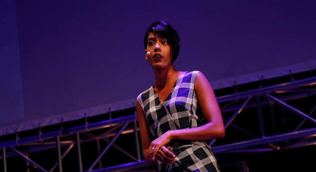 Sheree Atcheson, global ambassador, Women Who Code speaking at Inspirefest