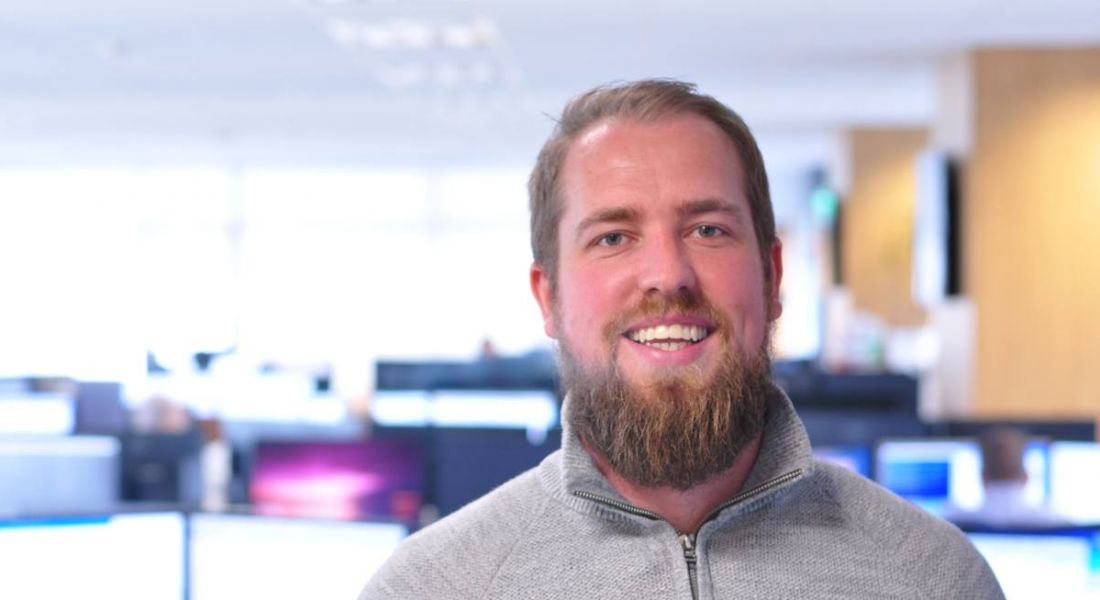Corey Murphy, an e-commerce operations manager at eShopWorld. Image: eShopWorld