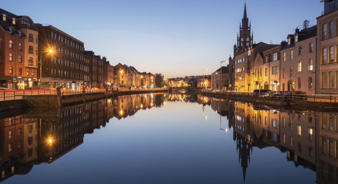 View of the River Lee in Cork city. Image: Stephen Long
