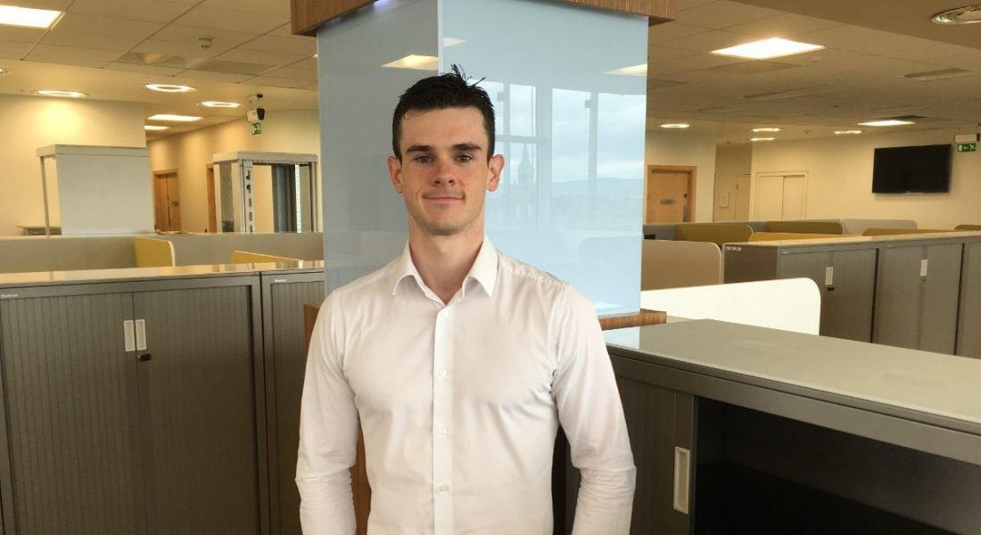 Colin Walsh, graduate, PwC
