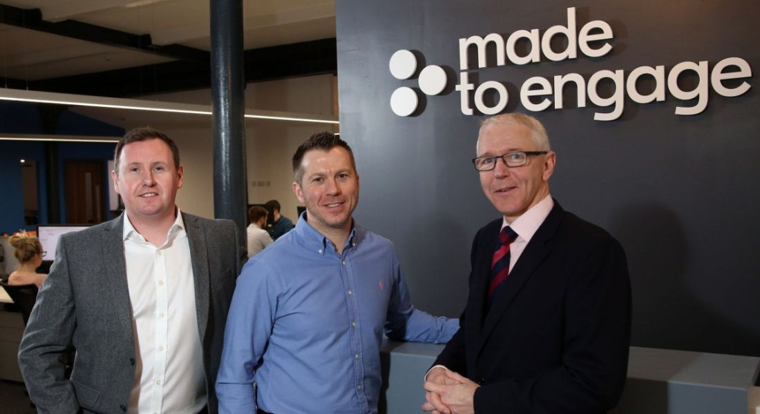 Belfast-based Made to Engage to hire 28 new employees