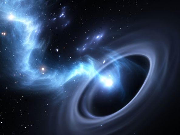 Humans could survive black hole journey, but would be adrift from reality