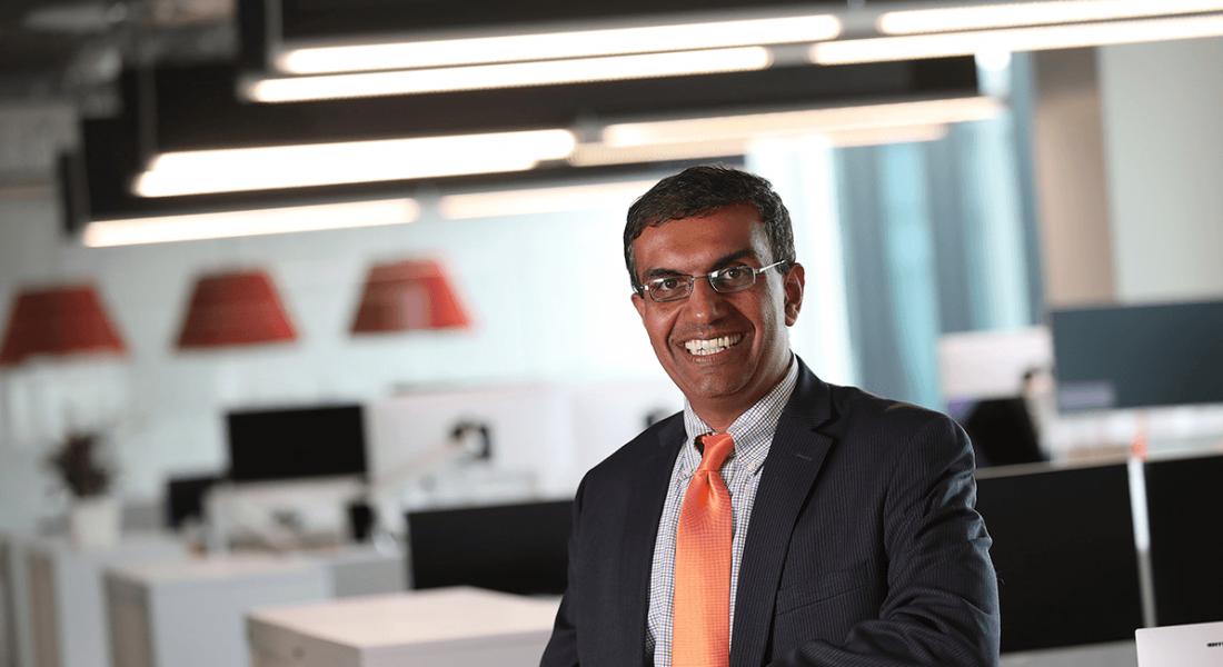 CEO of Informatica, Anil Chakravarthy. Image: IDA Ireland