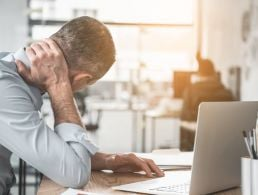 How much is stress at work affecting you?