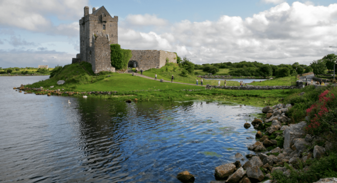 Dungaire Castle near Gort, Co Galway.